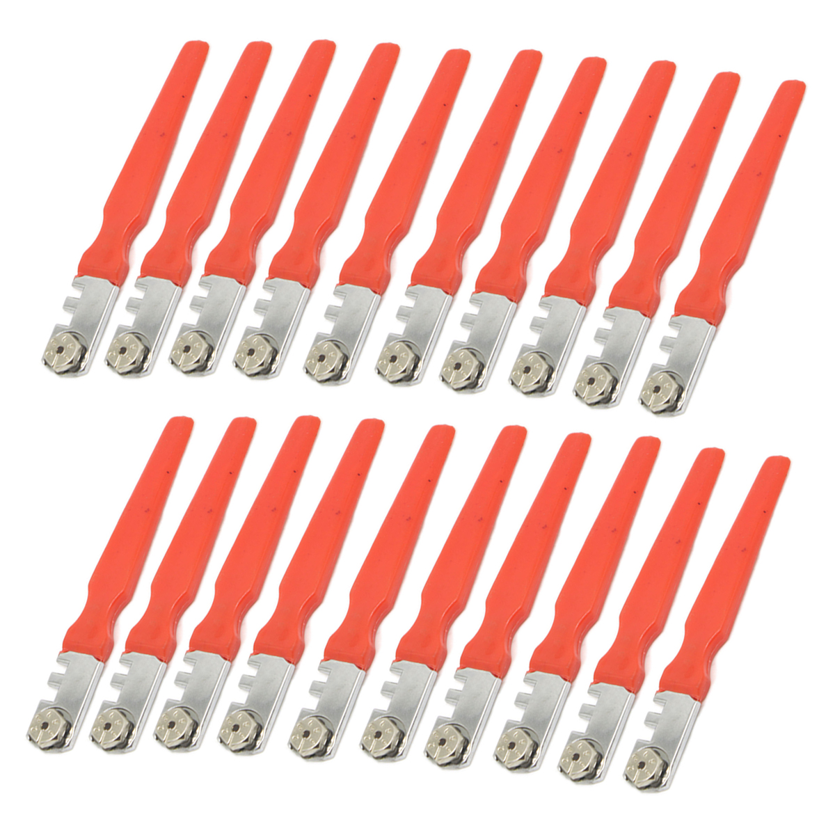 20pcs/set New 3mm-18mm Tipped Tile Glass Cutters Cutting Craft Glazing Hand Tools