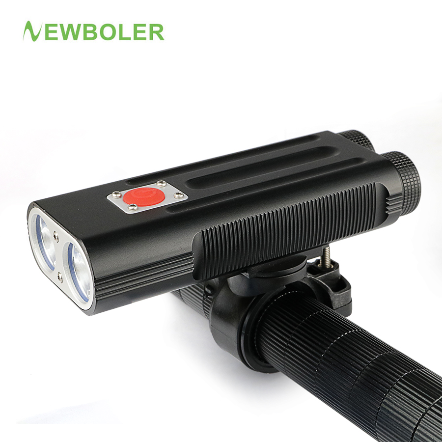 NEWBOLER Rechargeable Bicycle Light Front Bike Light Flashlight Dual LED 2 XML-T6 Headlight Accessories For Cycling sitemap 35 xml