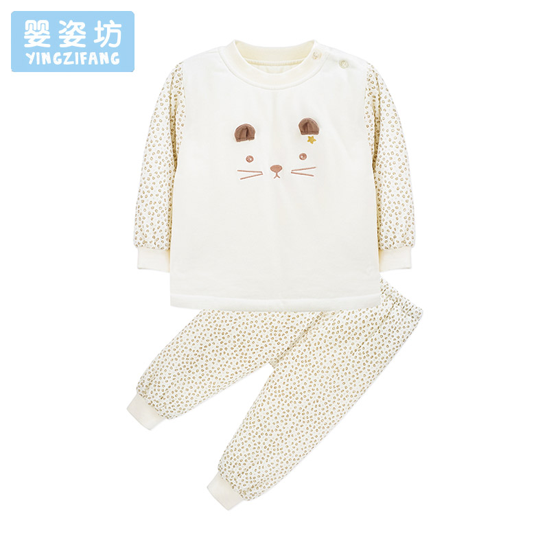 Baby Girls Boys Clothing Sets Cute Pattern Children Sports Suits 2017 Autumn Kids Long Sleeve Costume Soft Clothes Sets