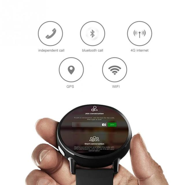 LEMFO 8MP Camera GPS Smart Watch / 4G LTE 3