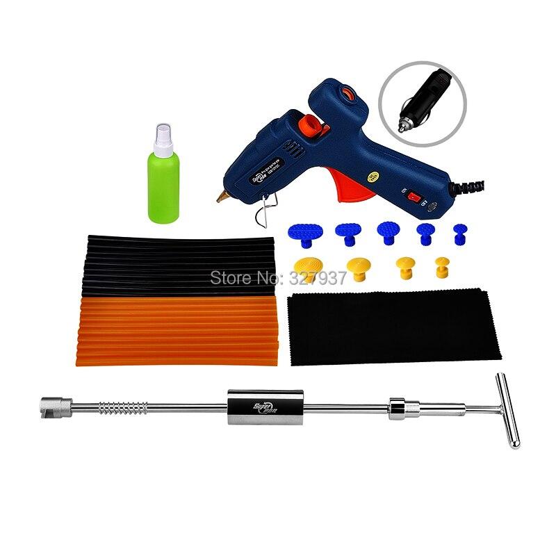 ФОТО PDR Tools Paintless Dent Repair Tools Hot Melt Glue Sticks Heat Glue Gun PDR Glue Puller Tabs Hand Tool Set Toolkit Herramentas