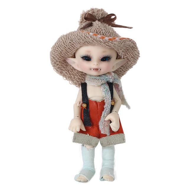 Realpuki FreeShipping Fairyland AkiA bjd 1/13 body model  baby girls boys dolls eyes High Quality toys shop resin anime