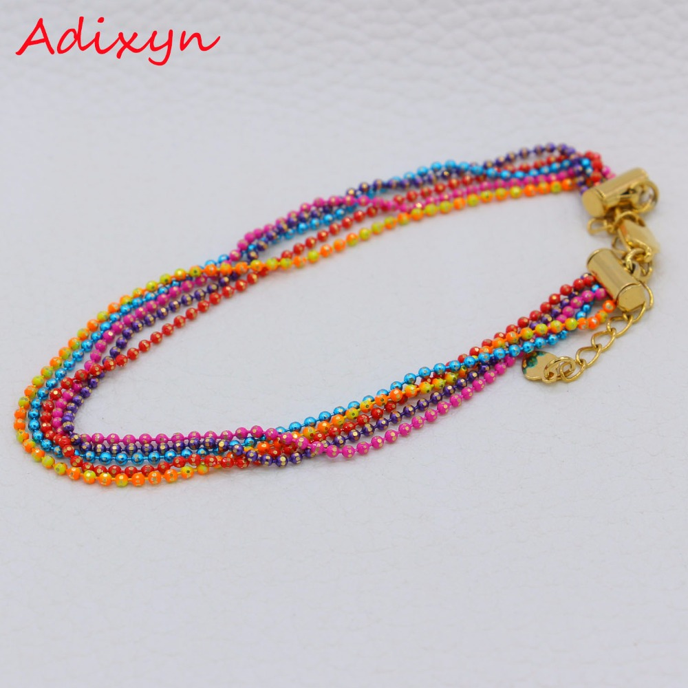 jewelry colorful charms for women stretch handmade men mixed elastic bracelet spacer gorgeous fashion bracelets beads glass