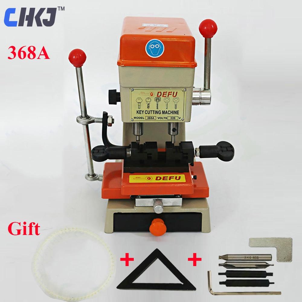 CHKJ DEFU 368A Key Duplicating Machine 180W Vertical Key Cutting Machine End Milling Drill Making Car