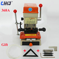 CHKJ DEFU 368A Key Duplicating Machine 180W Vertical Key Cutting Machine End Milling Drill Making Car Door Keys Locksmith Supply
