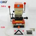 Máquina de duplicación de llaves CHKJ DEFU 368A máquina de corte de llaves Vertical de 180 W taladro de fresado extremo que hace llaves de la puerta del coche suministro de