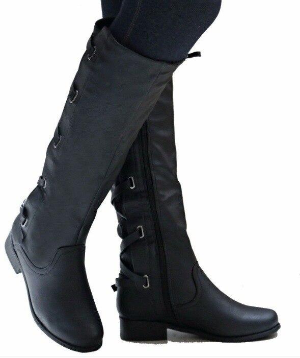 885ac13de De Talon Vintage Bottes Classique Femmes Chaussures Véritable ...