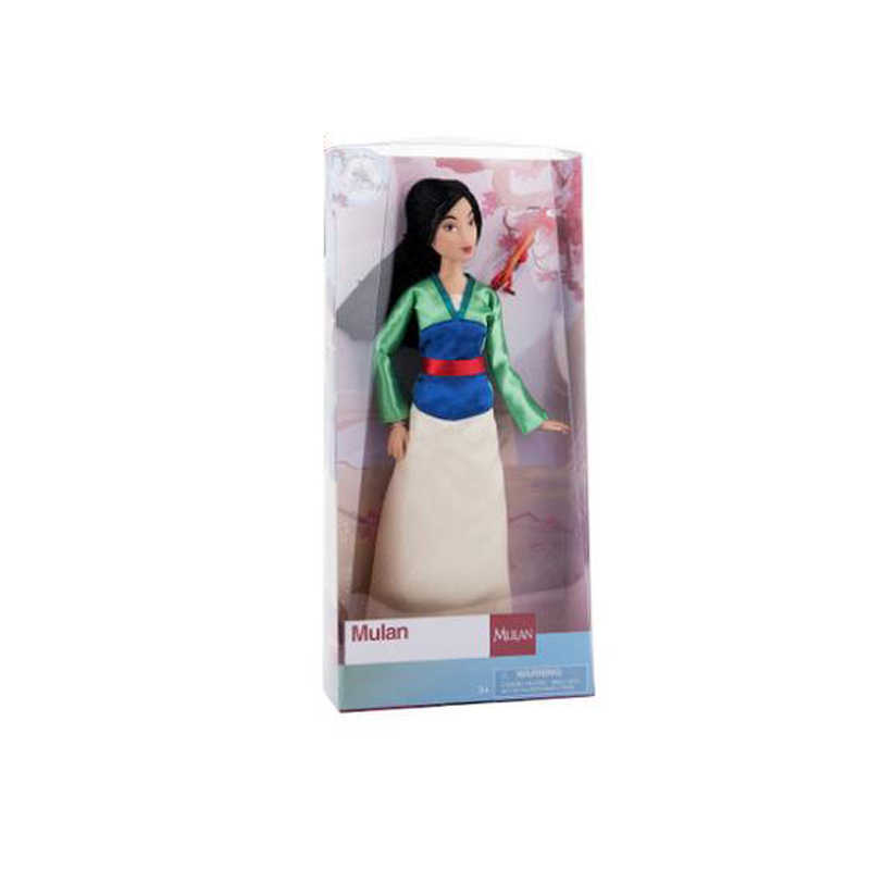 491808326e1b0 ... Original DISNEY Store Mulan with Mushu & The Little Mermaid Wedding  Dress Ariel Classic princess Doll ...