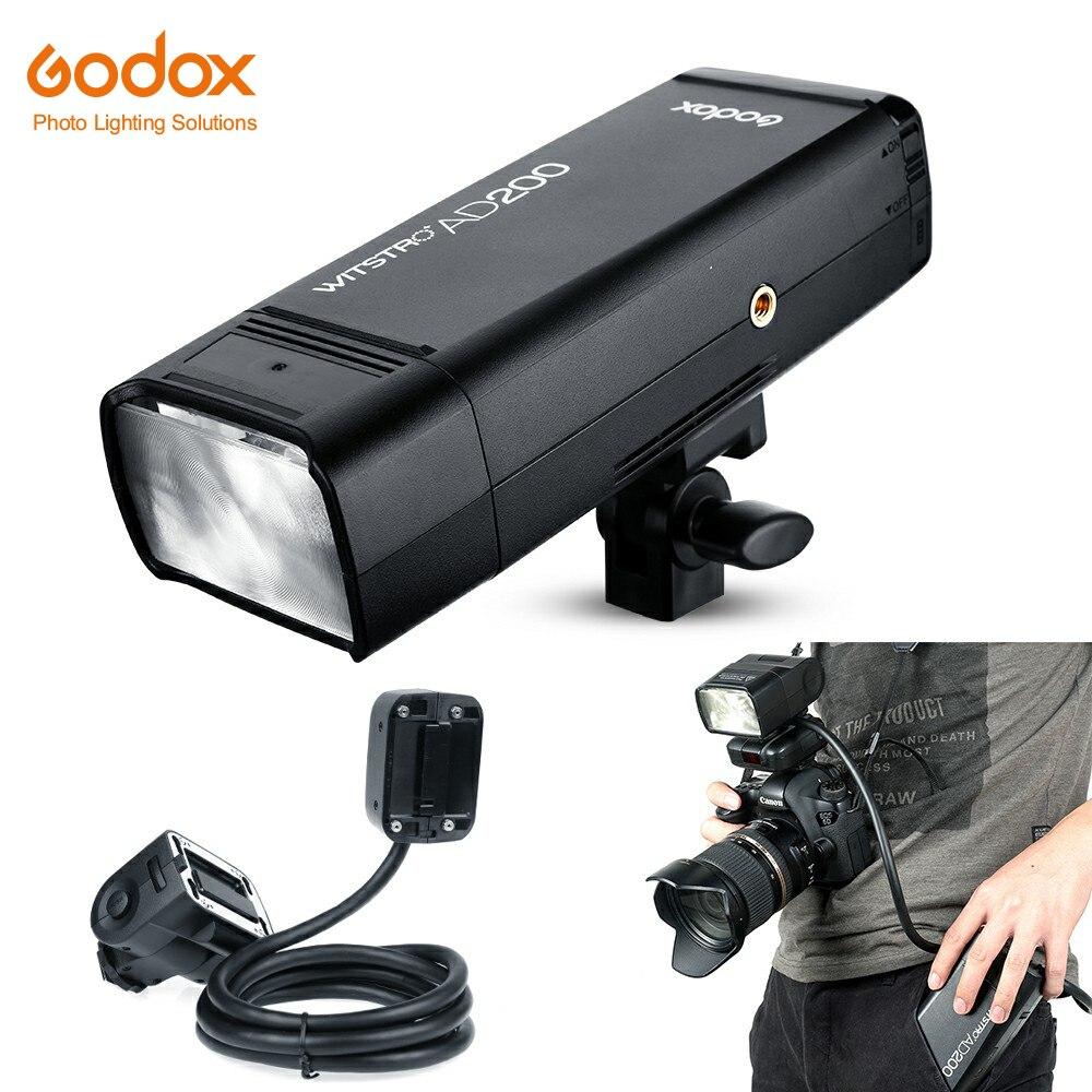 Godox AD200 200Ws 2 4G TTL Flash Strobe 1 8000 HSS Cordless Monolight with EC200 1