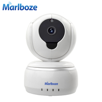New Two Antenna 720P HD Smartlink Wifi IP Camera Day Night Pan Tilt IR Motion Detect
