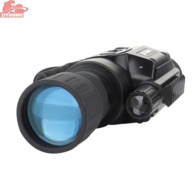 ZIYOUHU monoculare di visione notturna 6X50 portata del dispositivo digitale a infrarossi del telescopio di visione Notturna A Raggi Infrarossi registratore di Visione huntting