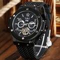 Luxury Brand Military Watch Men Self-wind Mechanical Analog Clock Rubber Strap Clock Man Sports Watches Army Relogios Masculino