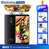 Blackview MAX 1 Mini Projektor Tragbare Home Theater Smartphone 6GB + 64GB Handy 6,01 zoll AMOLED Android 8.1 handy
