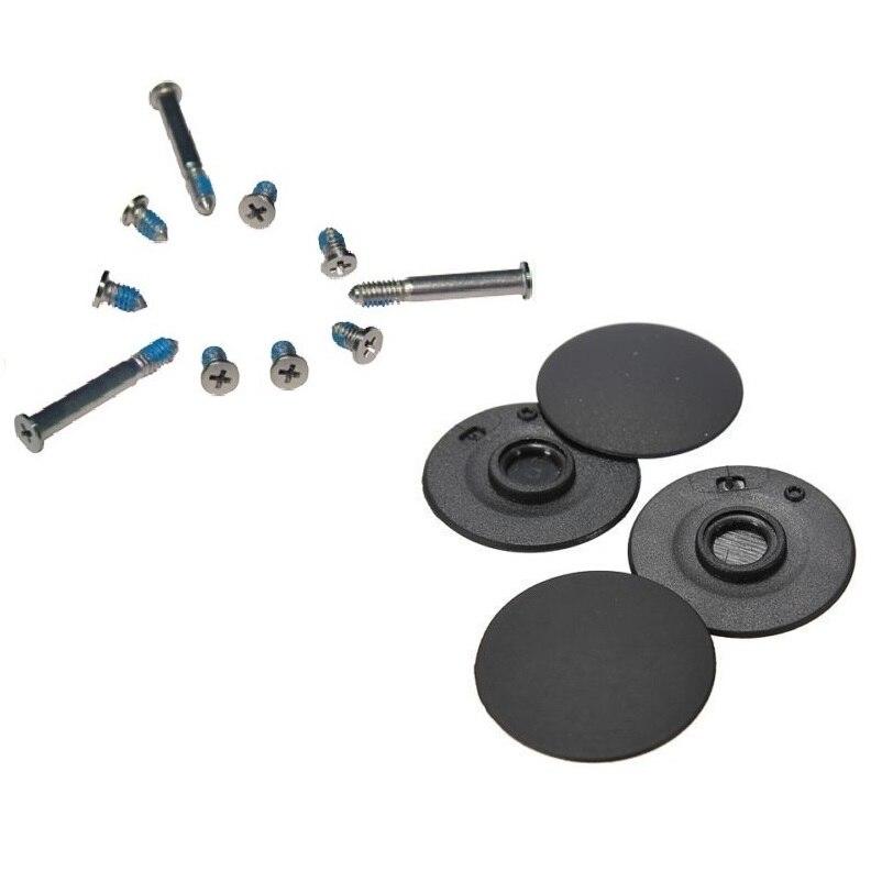 "Bottom Case Screws Set & Bottom Case Rubber Feet 4pcs/set For Apple Macbook Pro Unibody A1278 A1286 A1297 13"" 15"" 17"""