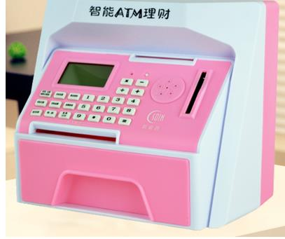 2018 Hot Voice ATM bank Card password big money boxes Savings coins and paper money Storage tanks birthday gift SJQ512