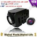 Rs232/rs485 1080 P de alta velocidade da abóbada câmera ip Módulo ptz zoom Óptico de 18x Módulo uav cam Módulo compatível qualquer câmera onvif