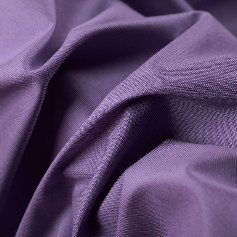 fe0e56c56e Purple cotton rayon blend fabrics summer dress shirt cotton fabric at wholesale  high grade cotton cloth-in Fabric from Home   Garden on Aliexpress.com ...