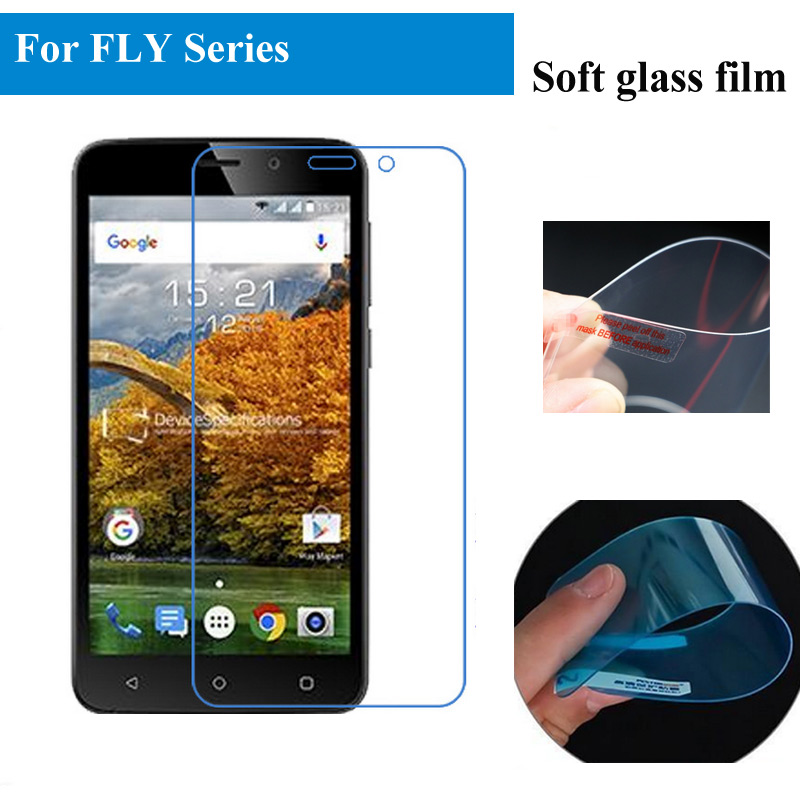 Clear Soft Glass Film For Fly Iq4411 Quad Energie 2 Iq4404 Iq4415 Iq4515 Iq454 Nano Explosion-proof Glass Screen Protector Various Styles Holsters & Clips Phone Bags & Cases