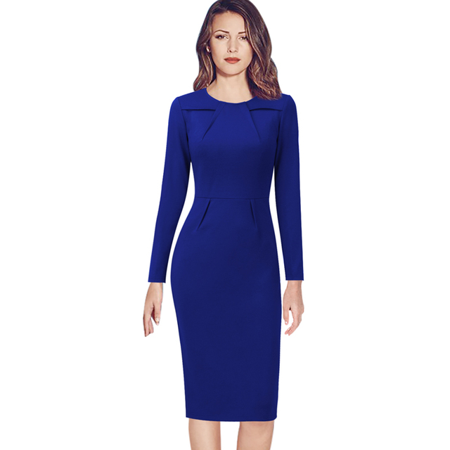 5b95aa33 Vfemage Womens Celebrity Elegant Vintage Ruched Pinup Wear To Work Office Business  Casual Party Fitted Bodycon Pencil Dress 1519