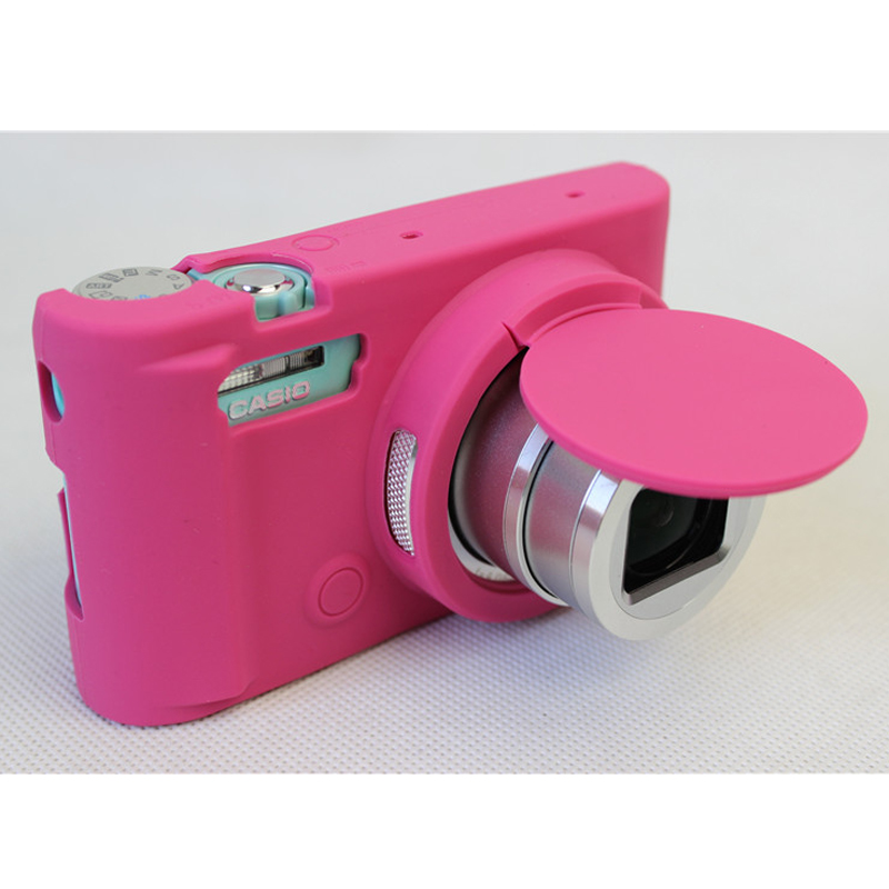 Nice Protective Body Cover Case for Casio ZR3600 ZR3500 ZR5000 ZR5500 Soft Silicone Rubber Camera Bag Skin with 5 colors