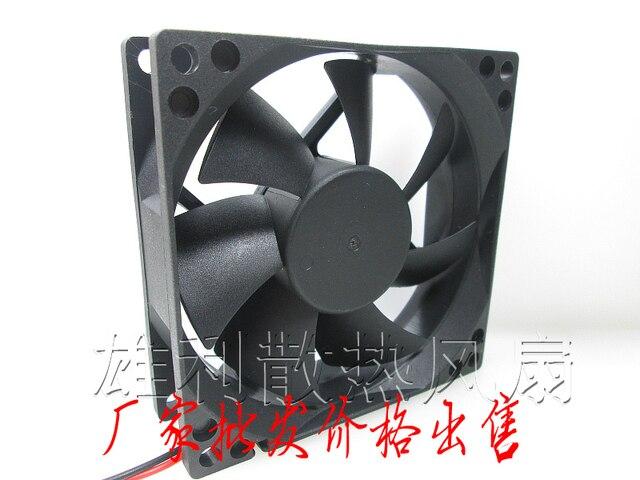 Factory Direct Power Supply Fan 8cm 8cm 8cm Case Fan Ultra Quiet Desktop  Computer Chassis