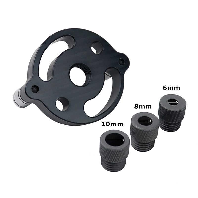 Vertikal Lubang Saku 6/8/10 Mm Dowelling Keterpusatan Diri Bor Kit Hole Puncher Locator jig untuk Alat