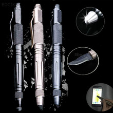 Outdoor Tactical Defense Pen Multi-function Tool With Knife Tungsten Steel Glass Breaker Self defense Weapons EDC Survival Tools