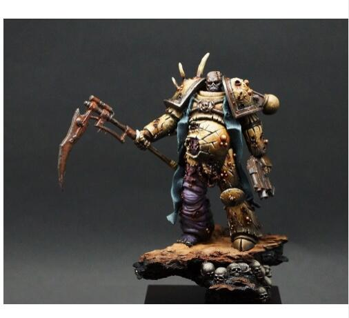 1/24 75mm Fantasy Defiler Figure 75MM With Base    Toy Resin Model Miniature Kit Unassembly Unpainted