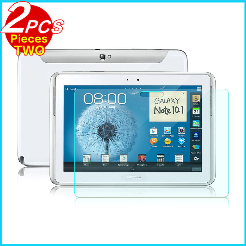 Tempered Glass membrane For Samsung Galaxy Note N8000 N8010 10.1 Steel film Tablet Screen Protection GT-N8000 GT N8010 Case HD usb charging data cable with eu power adapter for samsung galaxy note 10 1 gt n8000