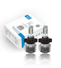 V1 5202 H16/PSX24W/5200/5201/9009 Chips LED Farol Kit de Conversão Lâmpadas Philips ZES Legal branco 6000 K 80 W com Canbus-2 Pcs