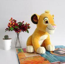 35cm wysokiej jakości śliczne miłość Simba król lew pluszowe zabawki Simba miękkie wypchane lalki dla prezenty urodzinowe 1 sztuk tanie tanio NoEnName_Null Tv movie postaci Pluszowe nano doll 3 lat Miękkie i pluszowe Zwierzęta Pp bawełna Sitting High 35cm
