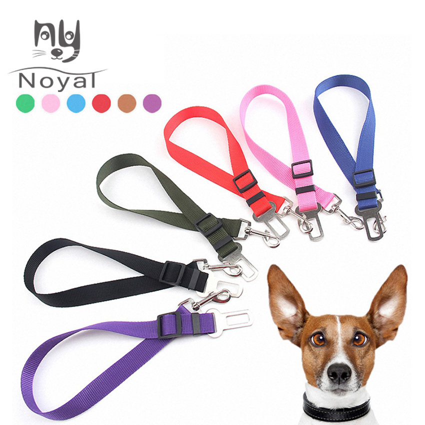 Pet Dog Car Seat Belts Harness Vehicle 1pcs Puppy Adjustable Leader Clip Dog Supplies Safety Dropshipping Pet Products|Seat Belts|   - AliExpress