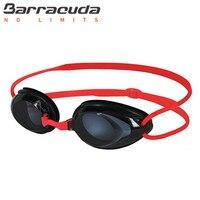 Barracuda Basen Gogle Optyczne-1.5 ~-8.0 Anti Fog Re-UV Krótkowzroczność okulary Pływackie Wodoodporna Dioptrii Pływać nurkowanie Okulary CZERWONY