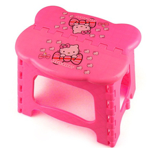 Best For Camping And Fishing Hello Kitty Garden Stool,Lovely Children  Cartoon Folding Stool Chair,Loding Weight 75 Kg,Wholesale