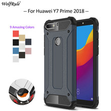 For Cover Huawei Y7 Prime 2018 Case TPU & PC Armor Bumper Phone Case For Huawei Y7 Prime 2018 Cover Y7 Pro 2018 Shell 5.99'' for cover huawei y7 prime 2018 case tpu