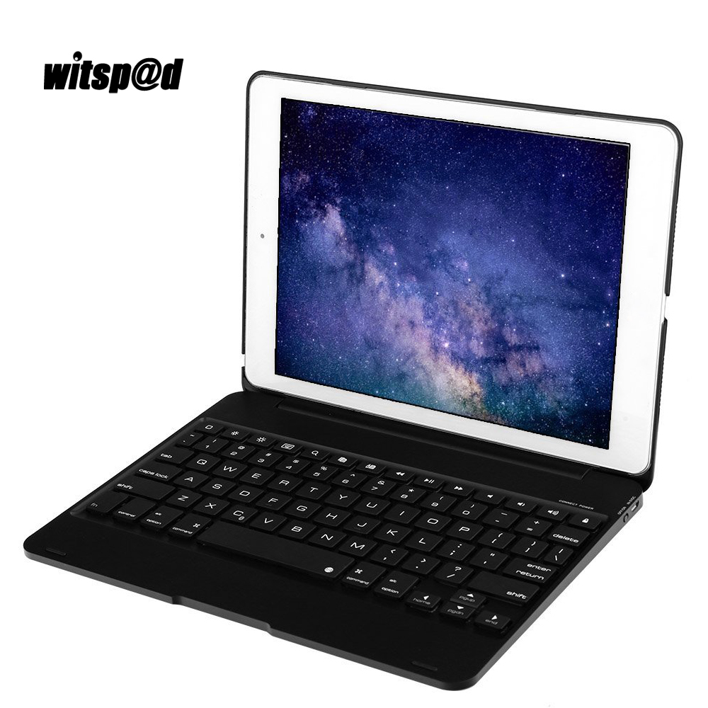 witsp d cover for ipad air keyboard case bluetooth wireless backlit keyboard with protective. Black Bedroom Furniture Sets. Home Design Ideas