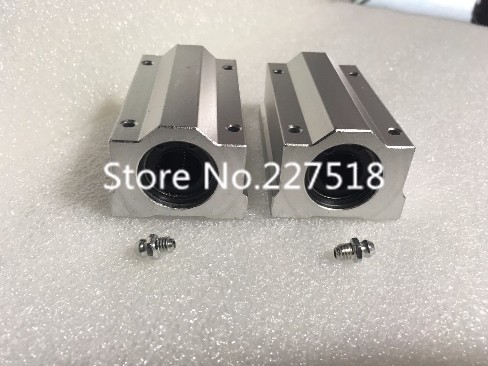 2pcs  SCS30LUU 30mm Linear axis Ball Bearing block, Bearing pillow Bolck with LM30LUU bush compatible bare bulb lv lp34 5322b001 for canon lv 7490 lv 8320 projector lamp bulb without housing