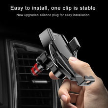 Wireless Car Charger Air Vent Phone Holder 180 Degree Rotation Fast Wirless Charger For iPhone Samsung Automatic Clamping(China)