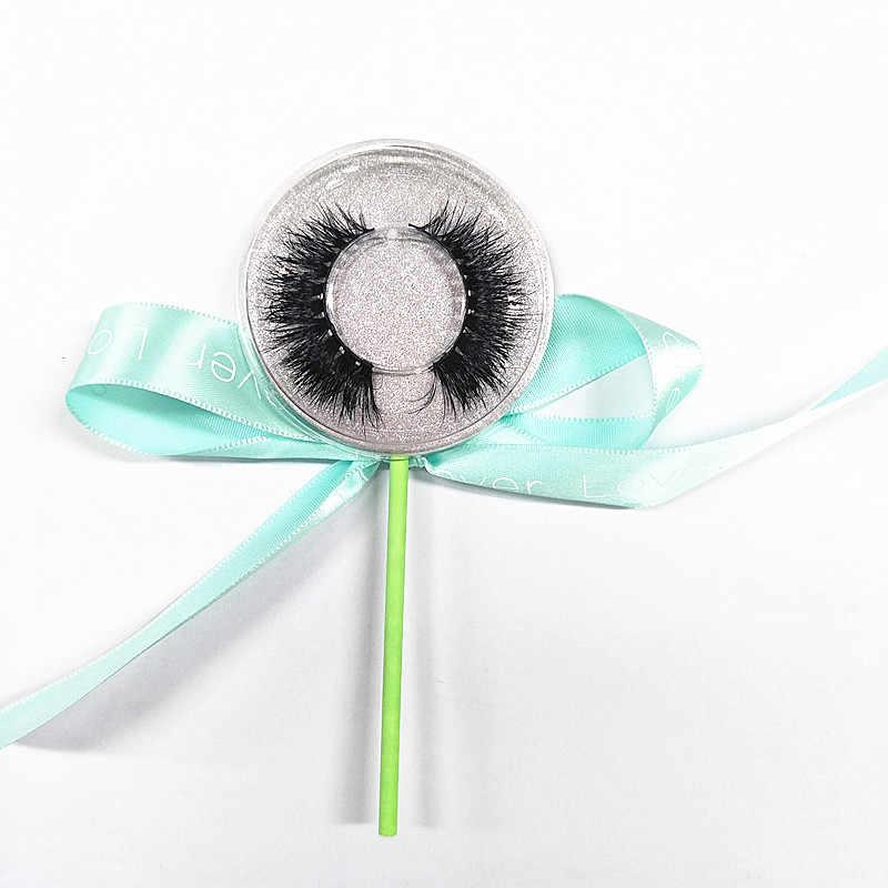 50 пар Lollipop 3d норковые ресницы расширение супер плотные Лучшая цена 3d норки накладные ресницы настроить Фирменная одежда, Бесплатная доставка