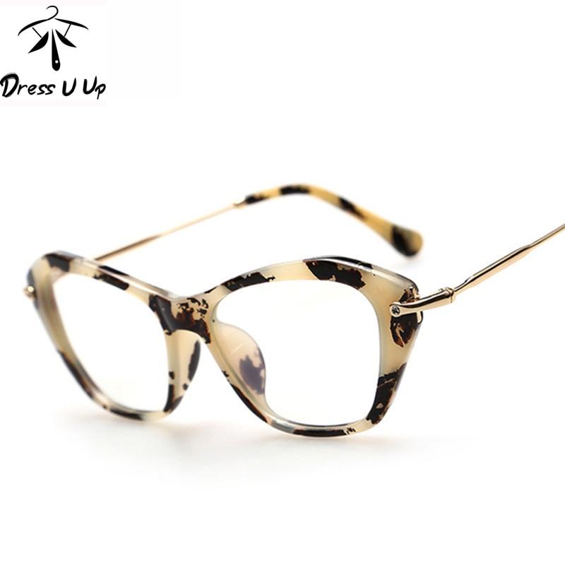 DRESSUUP Nova modna okvirna očala za ženske Očala za mačka Ženska klasična optična vintage očala Okvirna očala Oculos Gafas