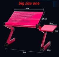 (BIG fan) baffle Multi Functional foldable laptop table stand notebook Desk mount with mouse pad laptop stand computer holder
