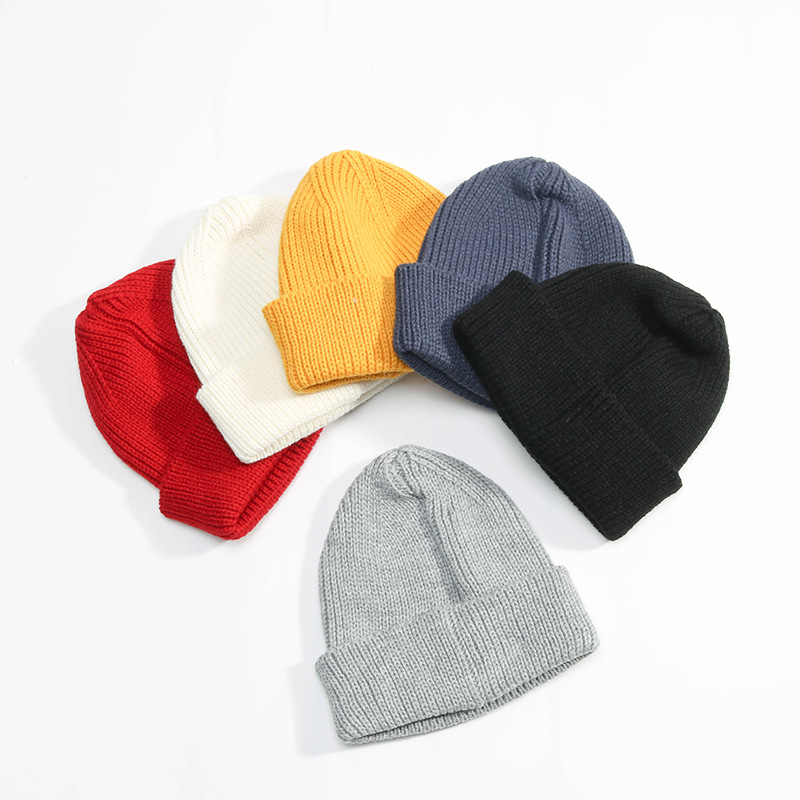 2017 Unisex Children Cotton Cute Hat Cap Autumn Winter Boys Girls Solid Color Knitted Hats Baby Kids Fashion Beanies Accessories цены онлайн