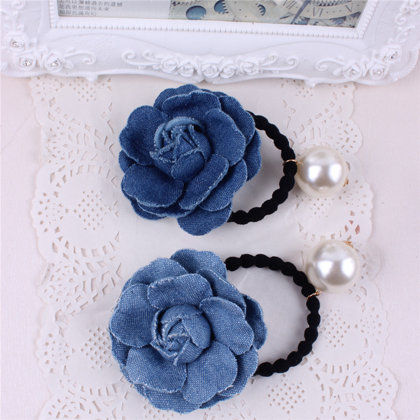 Tali bunga klasik gadis Bayi comel bunga rambut cincin aksesori rambut kepala untuk kanak-kanak membuat fesyen anak-anak cantik