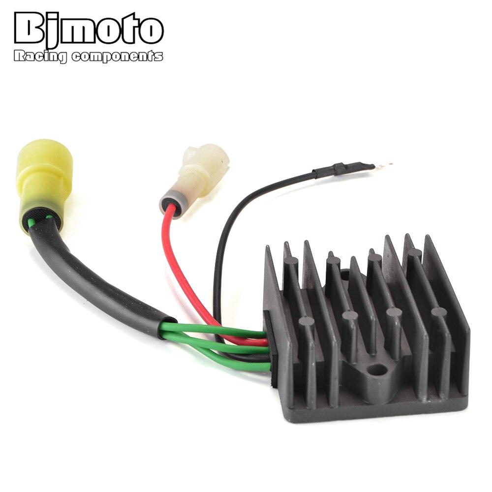 BJMOTO régulateur redresseur pour 6R3-81960-10 6R3-81960-00 S115 S130 S150 TXR/TLR S175/S175 TXR 96-99 130 ETL L200 ETX