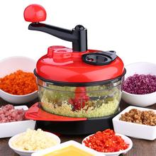 Creative Multifunctional Manual Garlic Grinder Meat Vegetable Fruirt Cutter Home Kitchen Restaurant Tool Gadgets Accessories