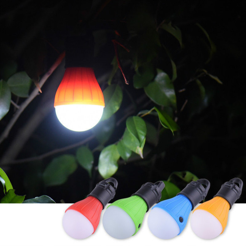 Portable Emergency Camping Tent Light Waterproof Outdoor Hanging SOS Lanters Bulb Fishing Lantern Hiking Energy Saving Lamp