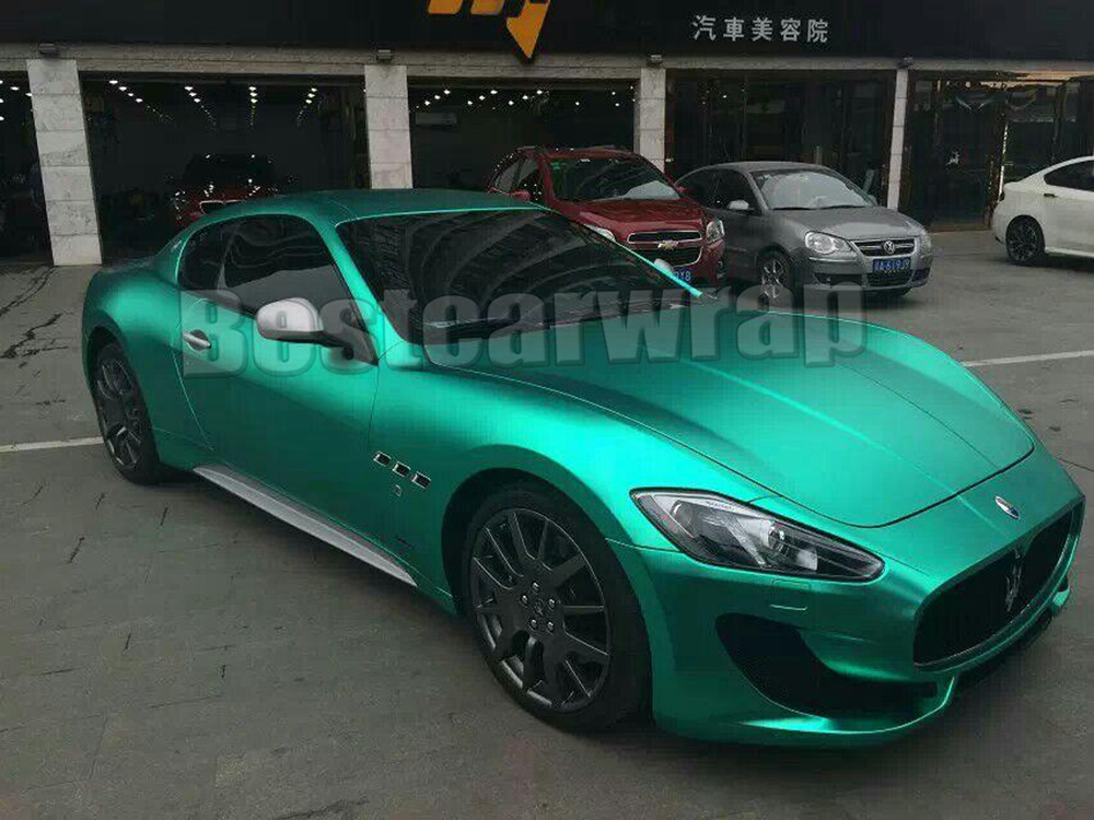 Chrome Car Wrap >> Protwraps Tiffany Mint Metallic Matte Ice Chrome Car Wrap Film With