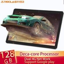 Teclast M20 10,1 дюймов 1920*1200 планшетный ПК MT6797 X27 Deca Core Android 8,0 4 Гб ram 128 Гб rom Dual 4G телефон планшеты двойной Wifi gps