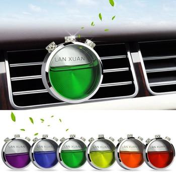 Auto Lufterfrischer Legierung Klimaanlage Outlet Vents Parfüm Clip