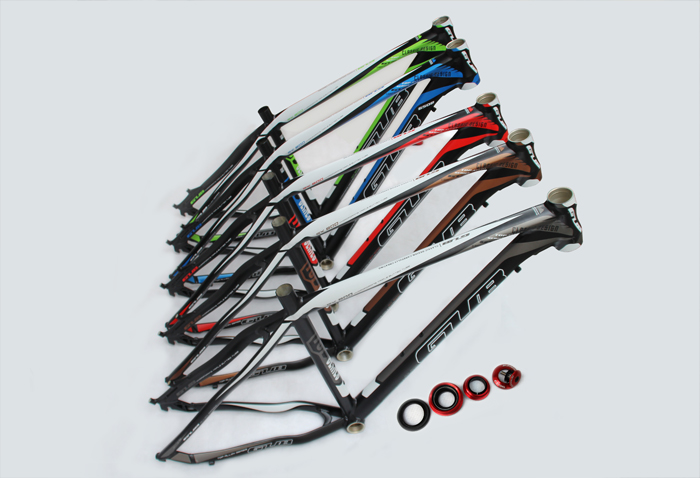 26 inches mountain bicycle hard frame alloy 6061 T6 heat treatment cable oil disc brake with heatset GUB 800